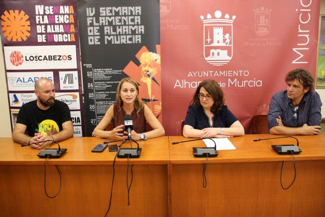 IV Semana Flamenca de Alhama de Murcia. Del 23 al 28 de septiembre, Foto 2