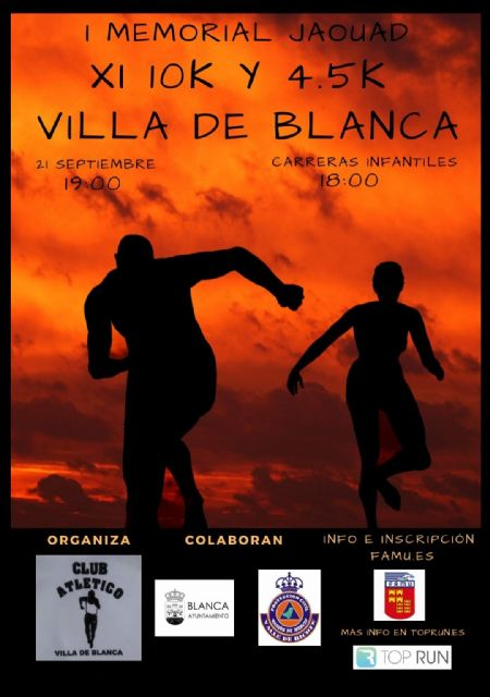 Este viernes, presentación de los XI 10K y 4,5K Villa de Blanca – I Memorial Jaouad Baata - 1, Foto 1