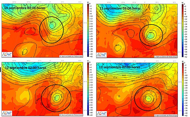 The forecasts indicate that we will have a strong storm of rain, wind and waves in the Mediterranean area, Foto 3
