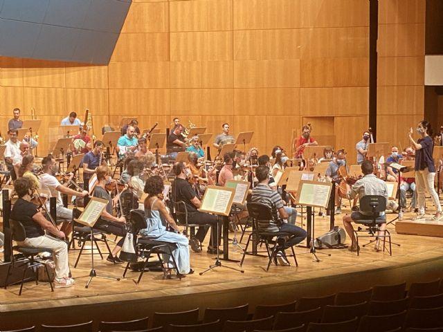 La Orquesta Sinfónica de la Región abre la temporada del Auditorio Víctor Villegas con un concierto retransmitido en directo - 1, Foto 1