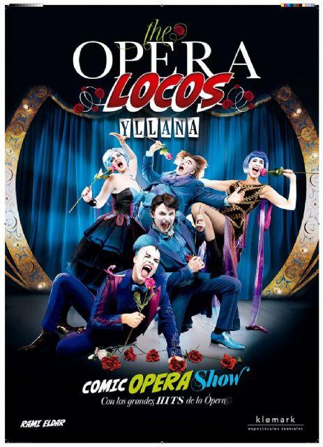 La 51 edición del Festival de Teatro de Molina de Segura comienza el sábado 12 de septiembre con el espectáculo The Opera Locos de la compañía Yllana - 1, Foto 1