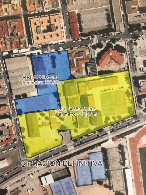 El Pleno aprueba la cesión del CEIP Príncipe Felipe para que sirva de ampliación del IES Infanta Elena - 1, Foto 1