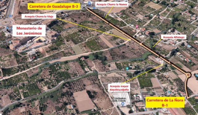 Asociaciones, colectivos y vecinos exigen al alcalde que anule el proyecto de vial que arrasa Huerta protegida - 2, Foto 2