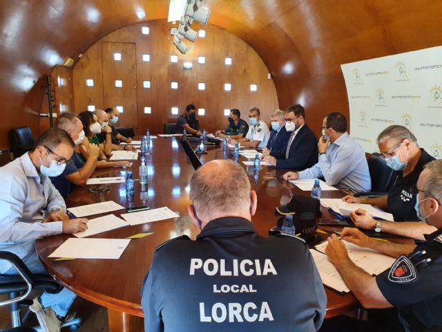 El Ayuntamiento coordina el trabajo de un dispositivo especial de seguridad para garantizar la normalidad en el desarrollo de la Feria y Fiestas de Lorca 2021 - 2, Foto 2