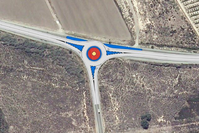 Aprobado el proyecto para la construcción de una nueva rotonda que mejorará la seguridad en la carretera de El Carmolí y Los Urrutias - 1, Foto 1