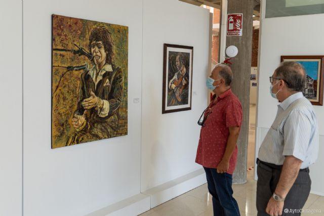 El pintor aguileño Pedro Juan Rabal inaugura dentro del Perlas a Millares la exposición ´Cartagenera´ - 1, Foto 1