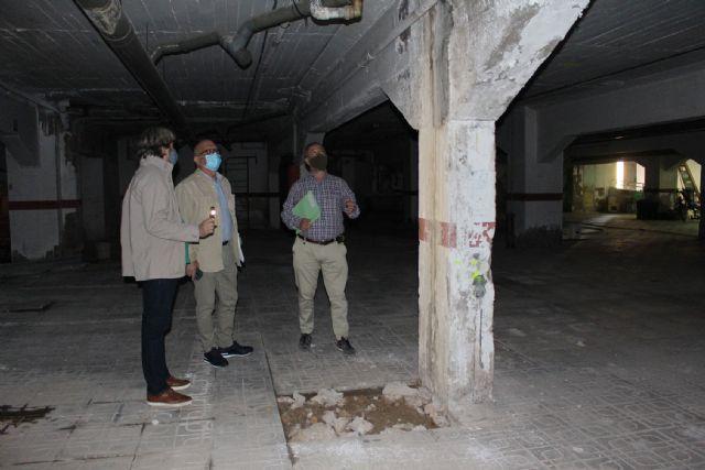Adjudicadas las obras del sótano del mercado de Santa Florentina - 1, Foto 1