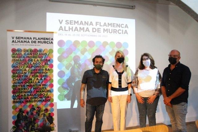 V Semana Flamenca de Alhama de Murcia. Del 19 al 25 de septiembre, Foto 1