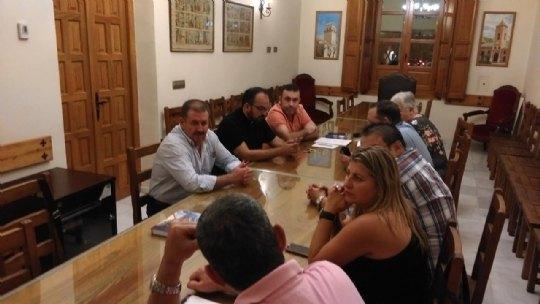El Patronato de la Fundación La Santa se reune con los representantes de Adsyse, Foto 1