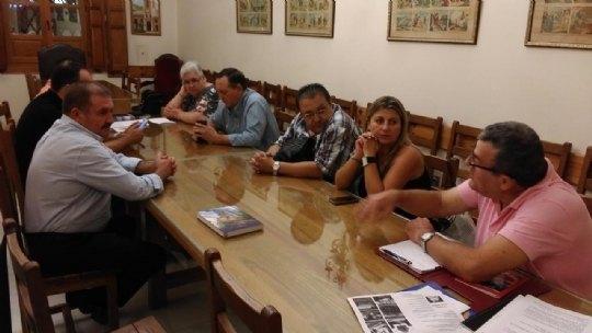 El Patronato de la Fundación La Santa se reune con los representantes de Adsyse, Foto 2