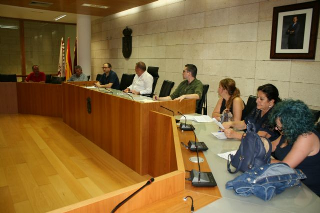 The Junta de Pedáneos reviews the needs and demands of the seven districts of Totana, Foto 1
