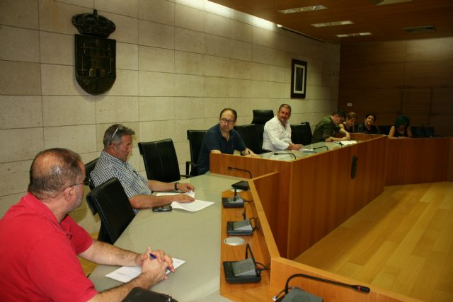 The Junta de Pedáneos reviews the needs and demands of the seven districts of Totana, Foto 2