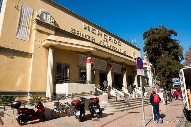 La Junta de Gobierno aprueba 156 mil euros para la ultima fase del mercado de Santa Florentina (modificada) - 1, Foto 1