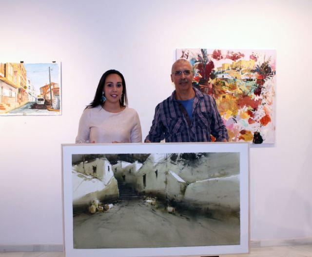 Miguel San Pedro, ganador del certamen de pintura 'Rincones de Puerto Lumbreras' 2018 - 2, Foto 2