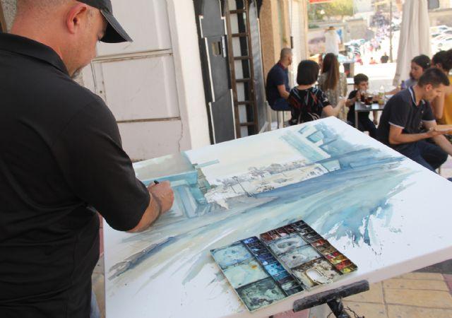 Miguel San Pedro, ganador del certamen de pintura 'Rincones de Puerto Lumbreras' 2018 - 3, Foto 3