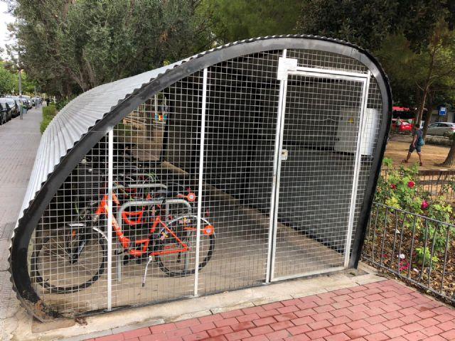 El Ayuntamiento de Murcia pone en marcha los nuevos aparcabicis con sistema electrónico de control de acceso - 4, Foto 4