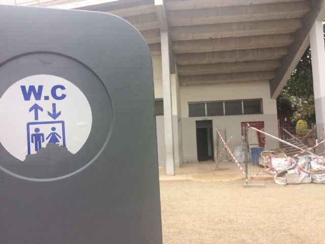 """The works of adaptation of the public toilets of the municipal park """"Marcos Ortiz"""" begin - 2"""