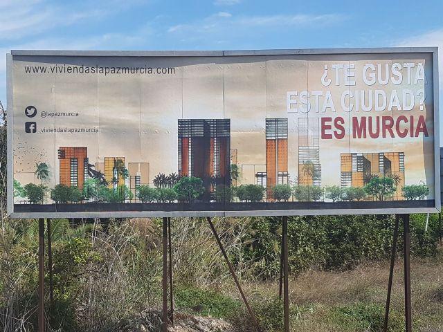 Ahora Murcia urge a Ballesta a convocar la mesa del barrio de La Paz para explicar el supuesto proyecto urbanístico de López Rejas - 1, Foto 1