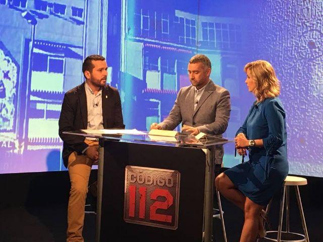 Victor Javier Navarro renueva su colaboración con el programa Código 112 de 7TV - 5, Foto 5