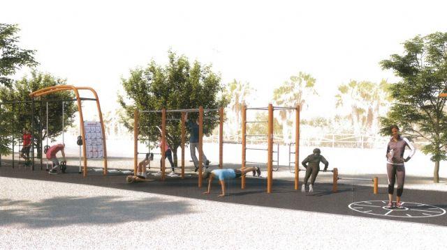 La Avenida del Puerto contará con un completo circuito deportivo - 1, Foto 1
