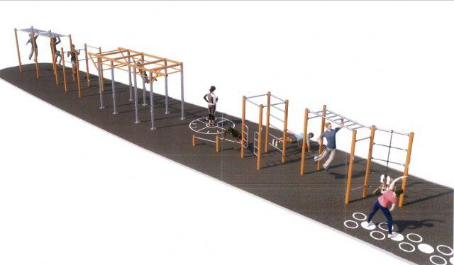 La Avenida del Puerto contará con un completo circuito deportivo - 2, Foto 2