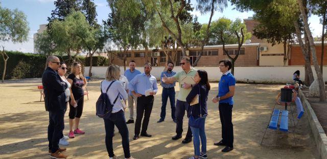El Ayuntamiento de Murcia reforzará el vallado y la seguridad perimetral del colegio Antonio Delgado Dorrego de Sangonera la Verde - 2, Foto 2