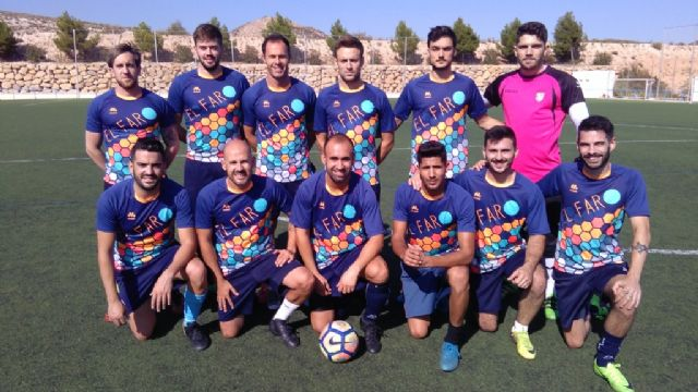 "The Football League ""Enrique Ambit Palacios"" has the participation of 282 players, distributed in 13 teams"