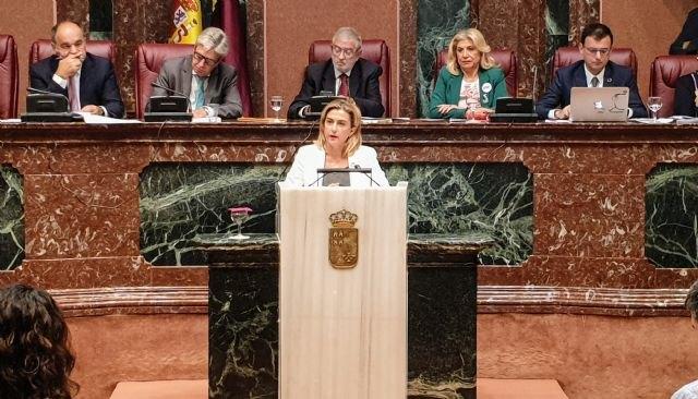 El PSOE celebra que la Asamblea apruebe su moción para crear un plan de dinamización económica para compensar el cierre del aeropuerto de San Javier - 1, Foto 1