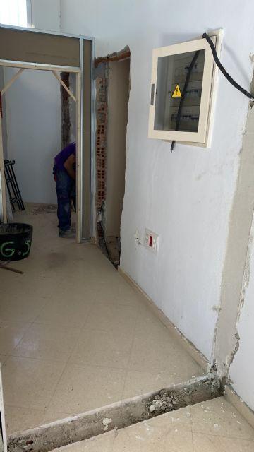 Avanzan las obras para la creación de un Centro de Día de personas con trastorno mental en Puerto Lumbreras - 1, Foto 1