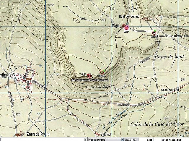 Rescatan a un senderista accidentado en una zona montañosa en El Sabinar - 1, Foto 1
