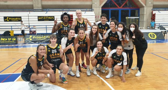 UCAM Primafrio Jairis comienza con victoria la Liga Femenina 2 de la temporada 2020/2021 - 1, Foto 1