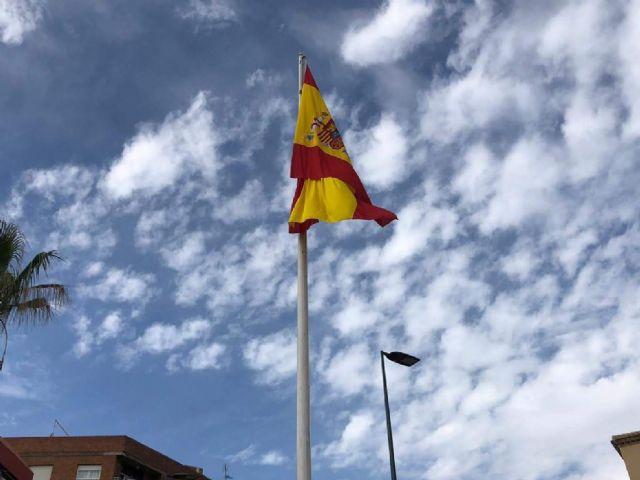 El Ayuntamiento de Lorca conmemorará el Día de la Fiesta Nacional de España el próximo martes, 12 de octubre, con la tradicional izada de bandera en la Plaza de Colón - 1, Foto 1
