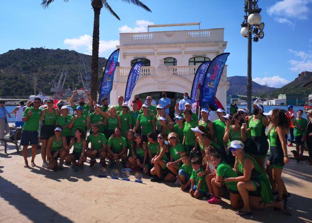 El Club Náutico Santa Lucía ganador absoluto de la I regata solidaria Puerto de Cartagena - 1, Foto 1