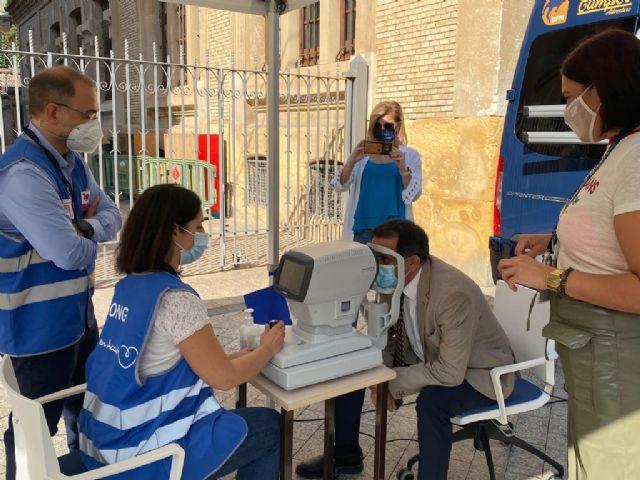 Murcia colabora en el proyecto 'El derecho a ver' con motivo del Día Mundial de la Visión - 2, Foto 2