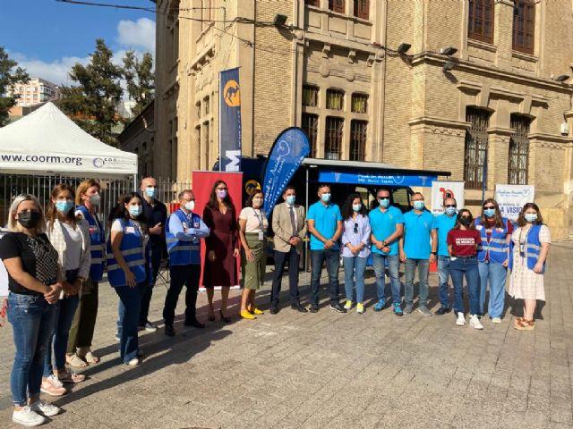 Murcia colabora en el proyecto 'El derecho a ver' con motivo del Día Mundial de la Visión - 3, Foto 3