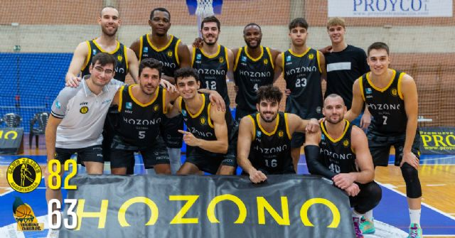 Victoria solvente del Hozono Global Jairis frente a Molina Basket - 1, Foto 1