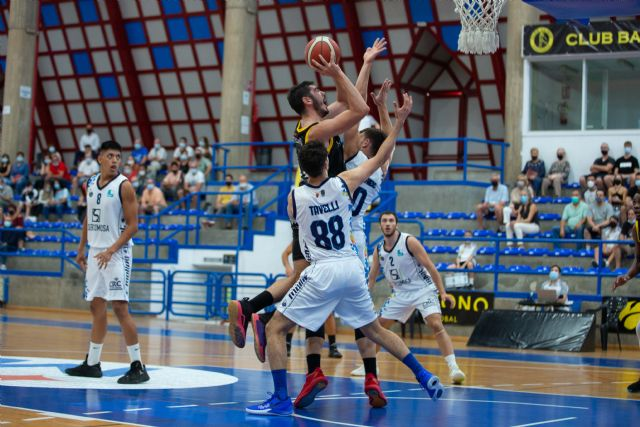 Victoria solvente del Hozono Global Jairis frente a Molina Basket - 2, Foto 2