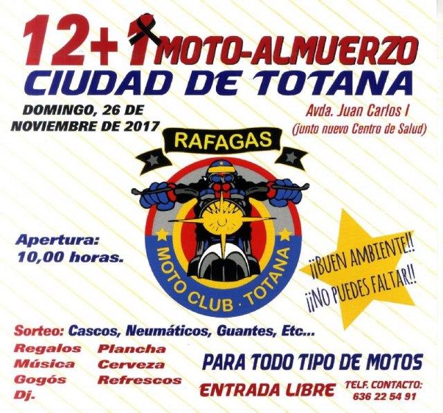 El Moto Club Ráfagas organiza el 12+1 Moto-Almuerzo Ciudad de Totana el próximo 26 de noviembre en homenaje a Ángel Nieto, Foto 3