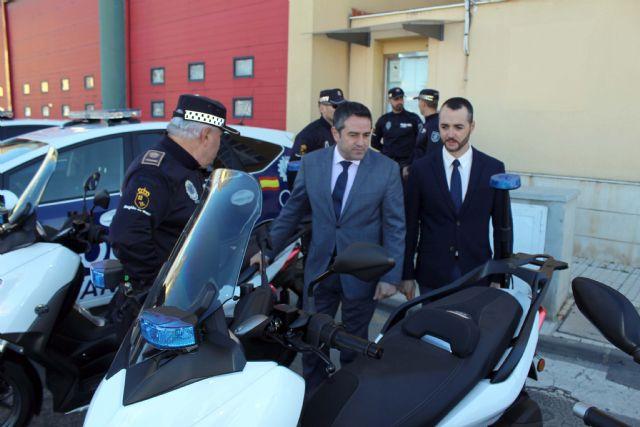 Presentadas dos nuevas motocicletas para la Policía Local - 1, Foto 1