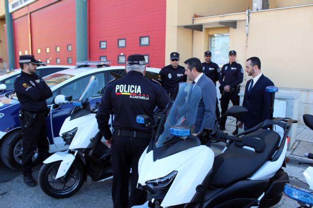 Presentadas dos nuevas motocicletas para la Policía Local - 2, Foto 2
