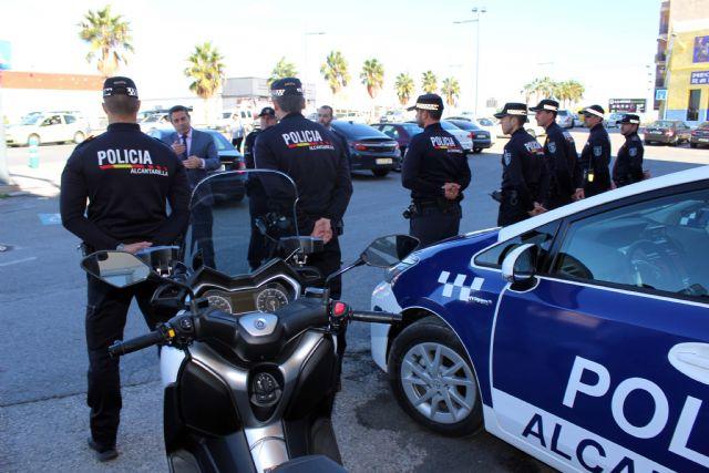 Presentadas dos nuevas motocicletas para la Policía Local - 3, Foto 3