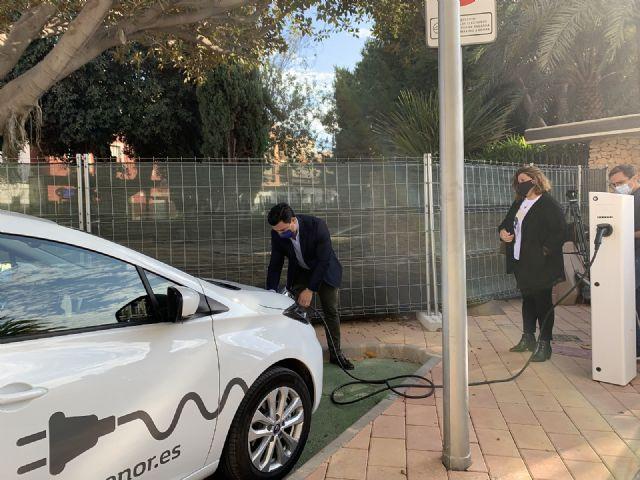 San Javier estrena los dos primeros puntos municipales de recarga  para vehículos eléctricos - 3, Foto 3