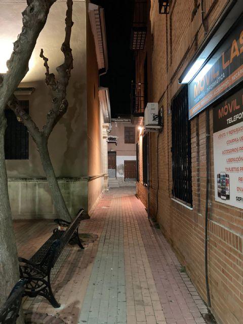 Mejorada la iluminación del callejón junto a la iglesia de Nuestra Señora de la Salceda - 2, Foto 2