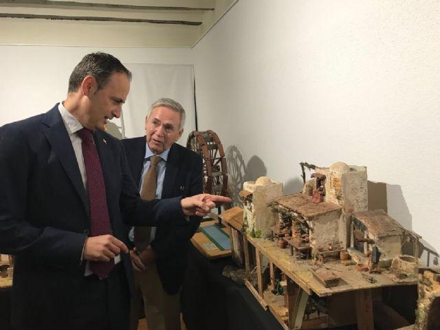 El consejero Javier Celdrán pregona la Navidad en Ojós y visita el Museo de Belenes del Mundo - 2, Foto 2