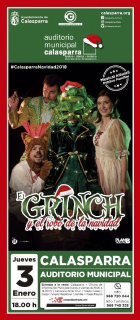 EL GRINCH y cómo casi roba la Navidad el 3 de Enero en el Auditorio de Calasparra - 1, Foto 1