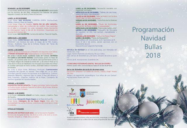 Comienza la Navidad 2018 en Bullas - 2, Foto 2