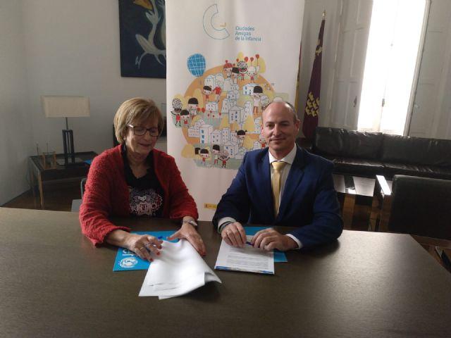 Alcantarilla firma un convenio de colaboración con Unicef Comité Español - 2, Foto 2