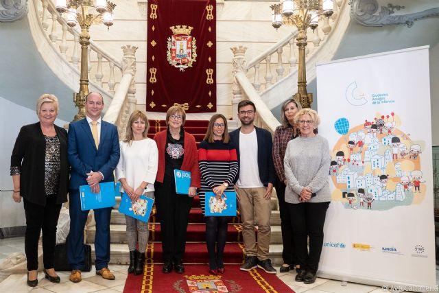 Alcantarilla firma un convenio de colaboración con Unicef Comité Español - 3, Foto 3