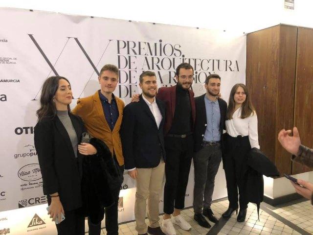 Pedro Jos� S�nchez ha sido premiado por un proyecto arquitect�nico por el Colegio de Arquitectos de la Regi�n de Murcia, Foto 1