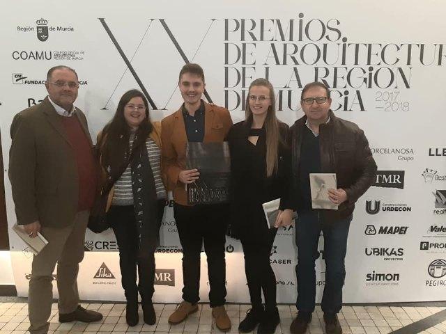 Pedro Jos� S�nchez ha sido premiado por un proyecto arquitect�nico por el Colegio de Arquitectos de la Regi�n de Murcia, Foto 2